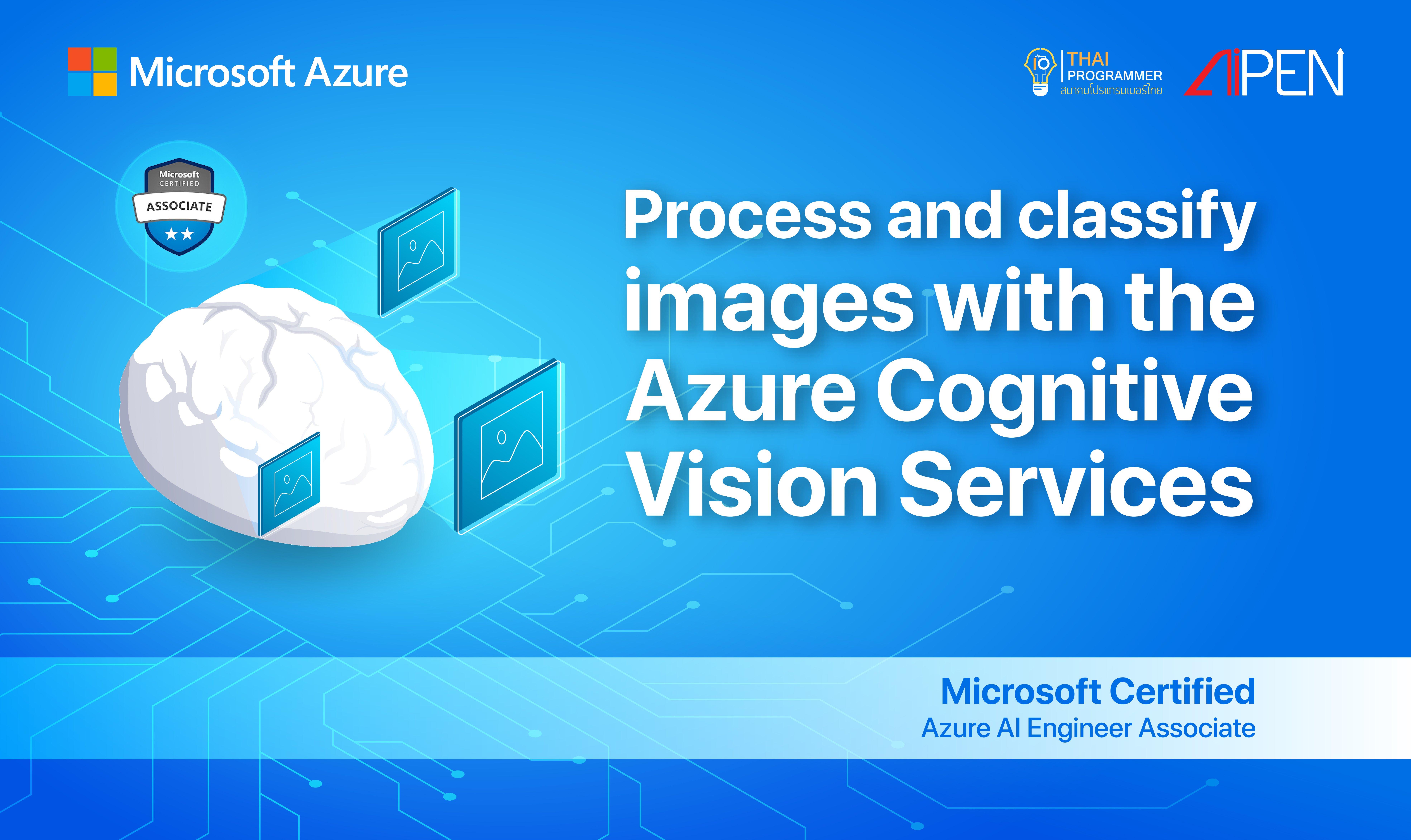 Microsoft Azure : Process and classify images with the Azure Cognitive Vision Services AZ-LEARN-15