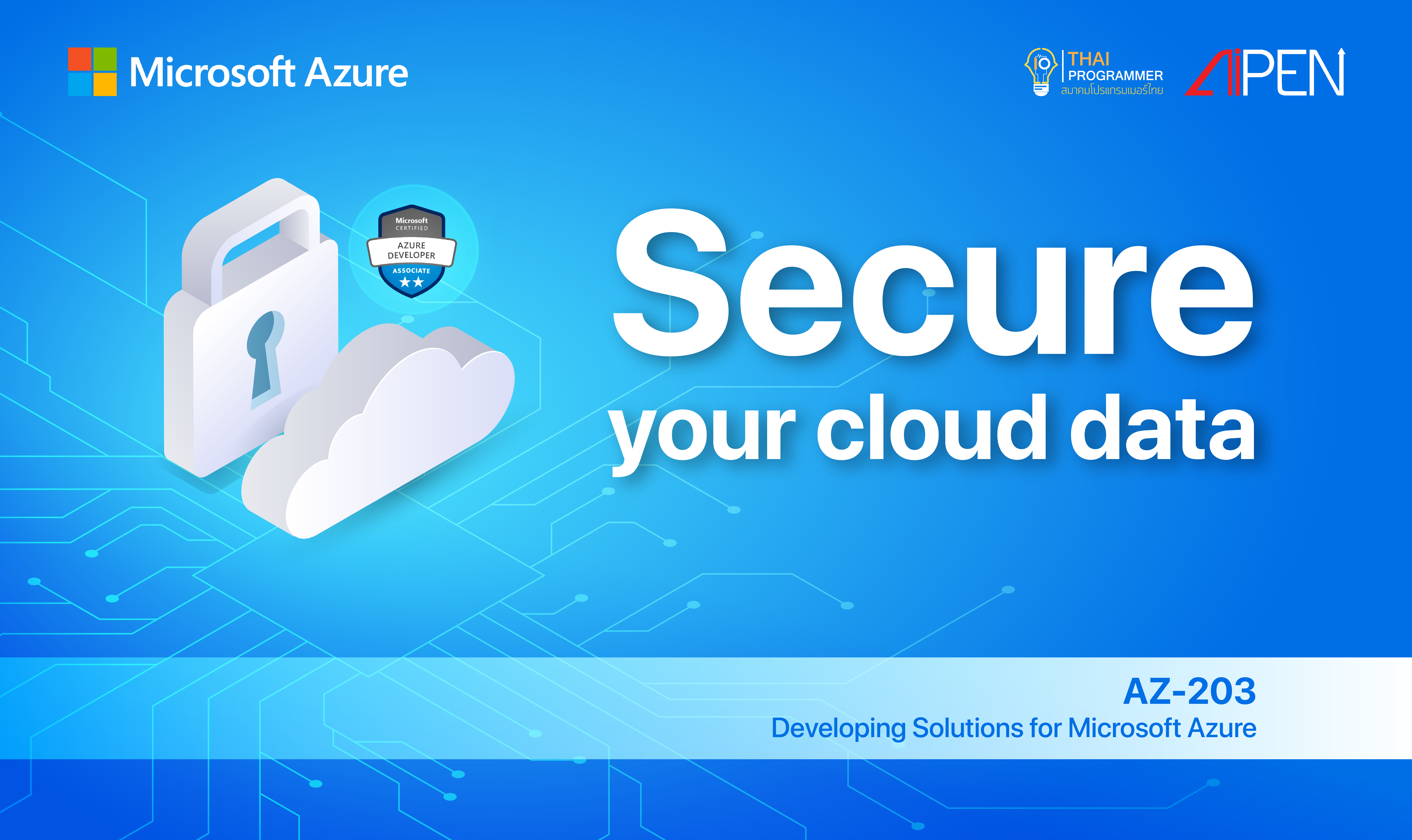 Microsoft Azure: Secure your cloud data AZ-LEARN-3