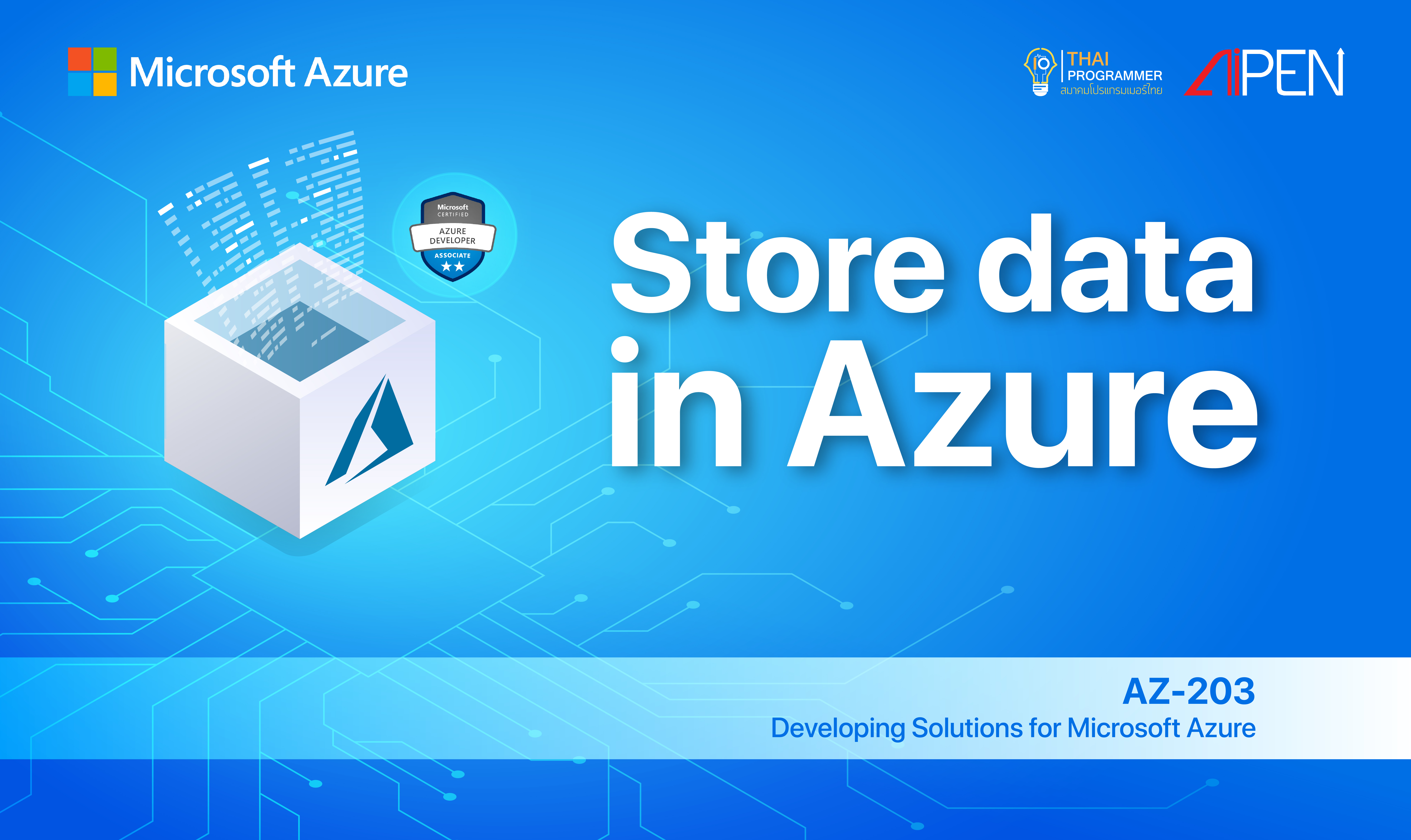 Microsoft Azure: Store data in Azure AZ-LEARN-4