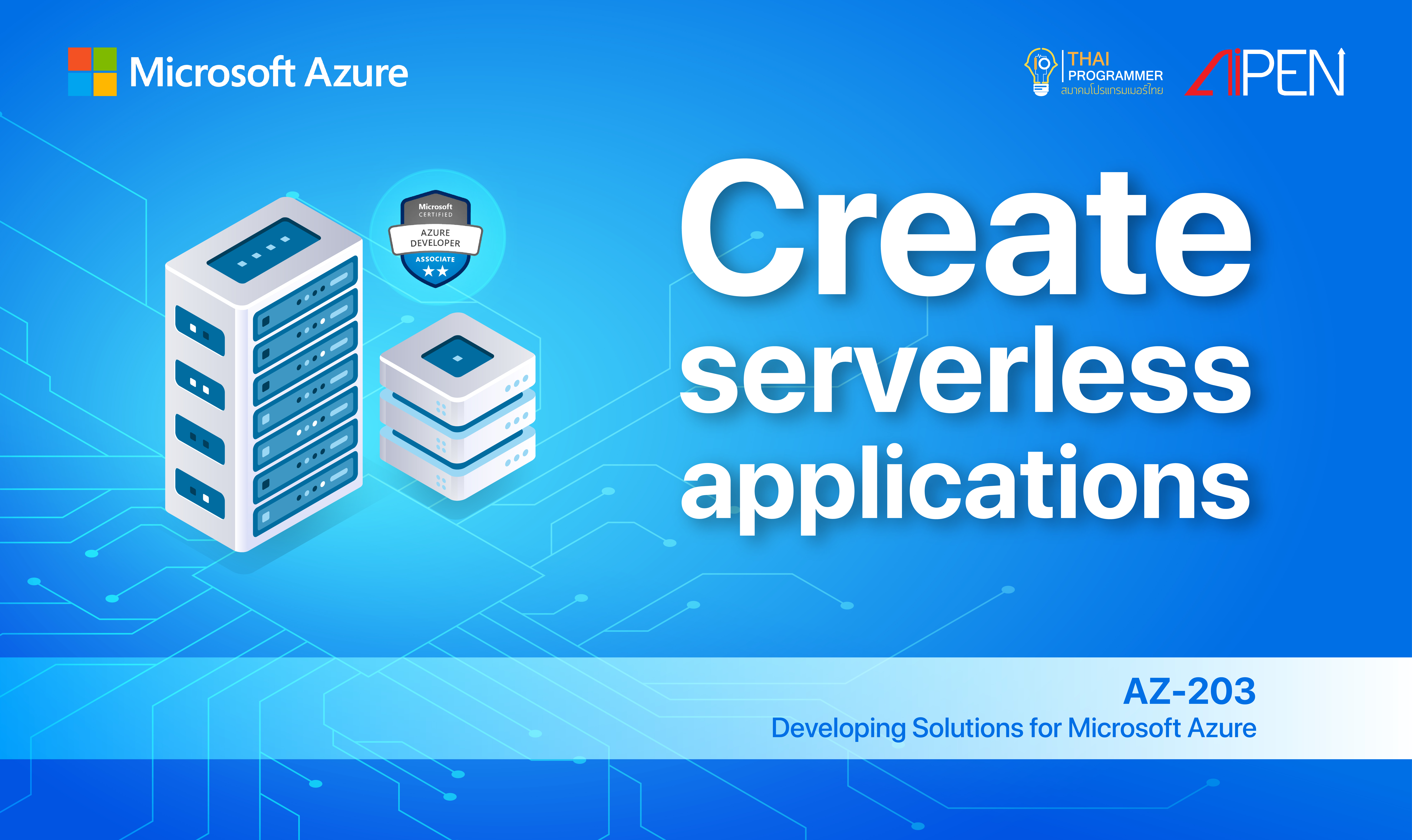 Microsoft Azure: Create serverless applications AZ-LEARN-6
