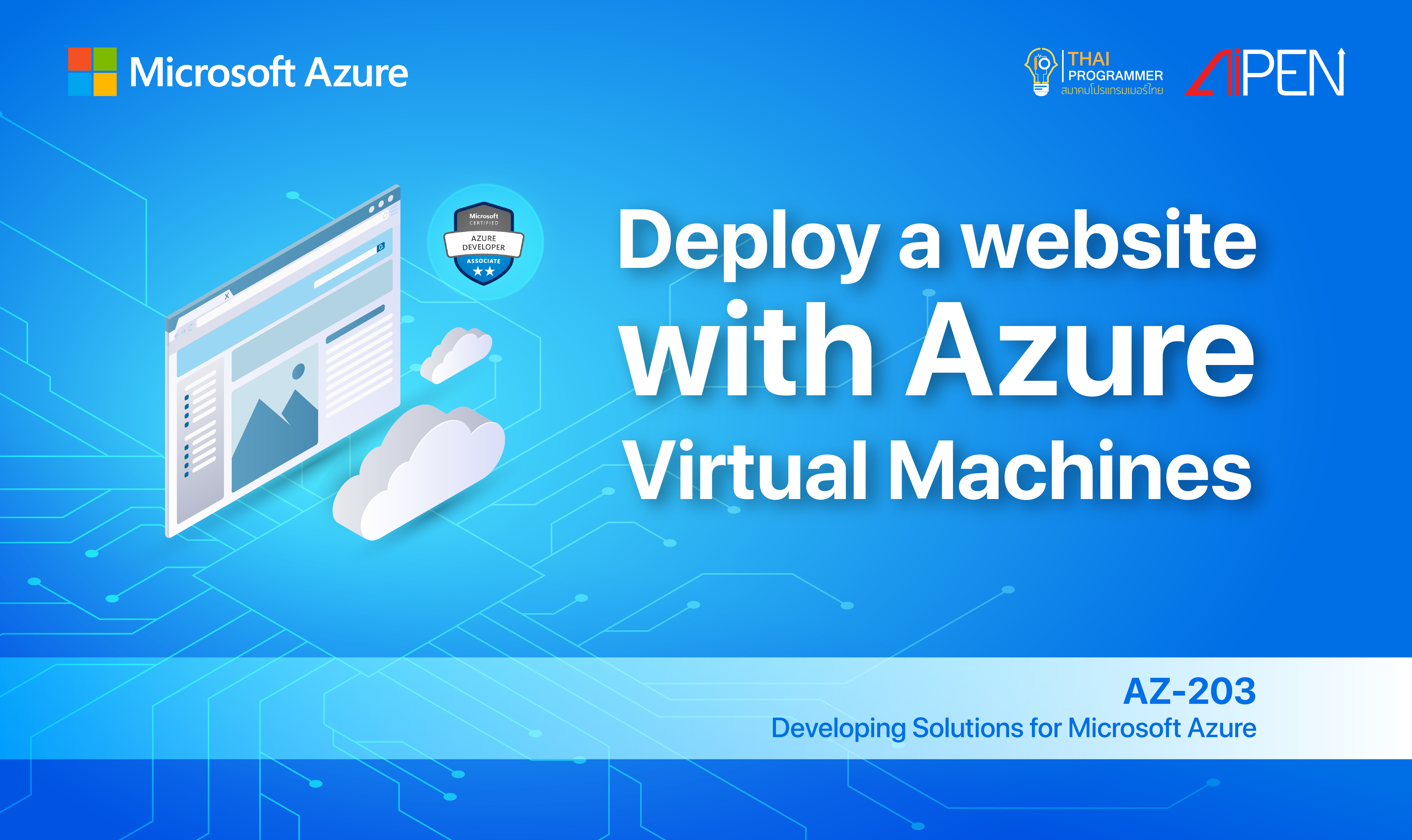 Microsoft Azure: Deploy a website to Azure with Azure App Service AZ-LEARN-8
